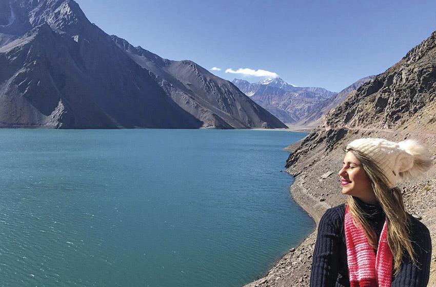 Um mês vivendo na capital chilena.
