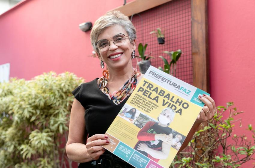 ENTREVISTA:  Prefeita  Marília Campos